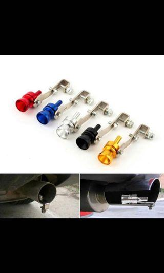 Universal Car BOV Turbo Sound Whistle Exhaust Pipe!