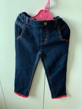 As know as Ponpoko jeans size 110