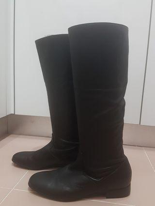 Agnes b Leather Boots
