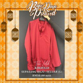 Termurah! Tailormade! Branded! Baju Melayu (Pre-Loved)