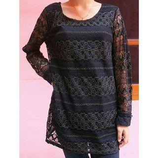 Notations Blouse Top