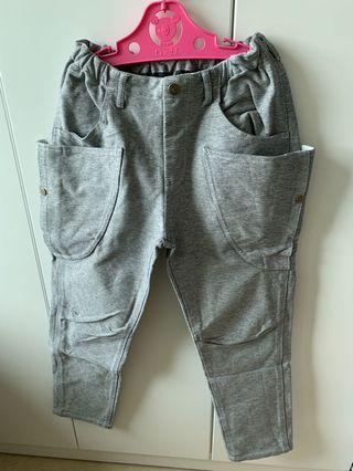 As know as Ponpoko pants size 140