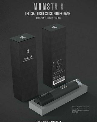 MONSTA X Lightstick Powerbank