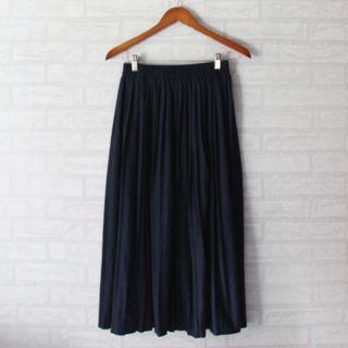 Long pleated Skirt #maujam