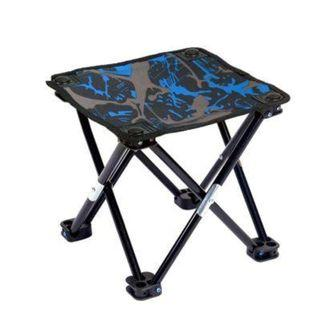 Outdoor Camping Portable Ultralight Chair Collapsible Stool (ROYAL BLUE)