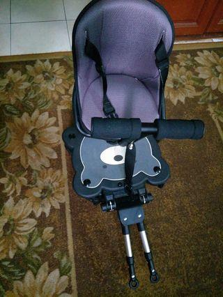 Buggy board with seat(universal for all stroller)