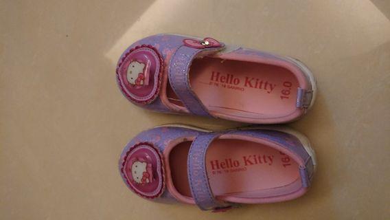 Hello kitty 嬰兒鞋 size 16