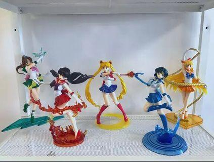Sailormoon figure and toys