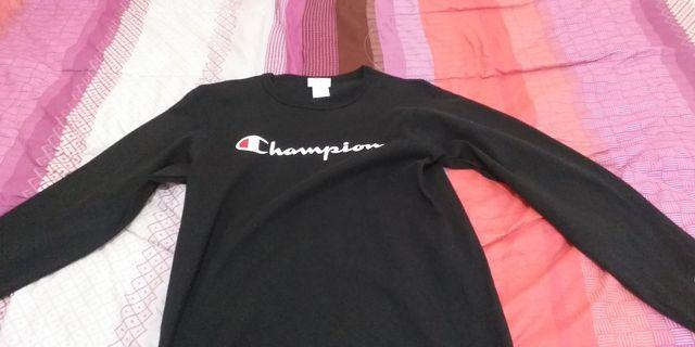 Champion LongSleeve Black