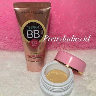 Maybelline Super BB Mineral Guard Filter SPF 50/PA+ Share in jar