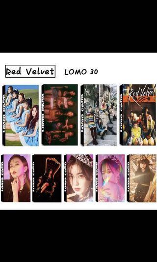 [#168 PO] Red Velvet lomo cards