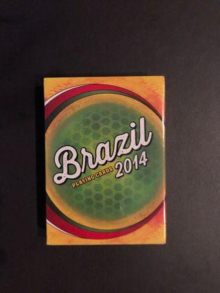 2014 World Cup Brazil Playing Cards