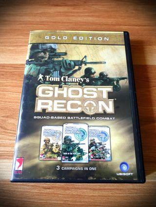 Tom Clancy's Ghost Recon (Gold Edition - 3 Campaigns in 1)(2002) PC Game