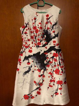 Exquisite plum blossom flower prints