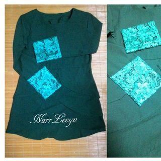 Peplum Silang&Skirt