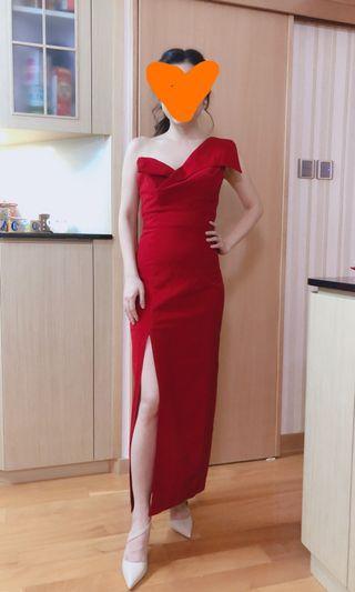 结婚/ 敬酒/ 新娘/ 宴會/ 晚禮服 性感紅裙款