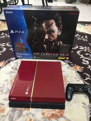 PS4 Fat Metal Gear Solid Edition 1TB