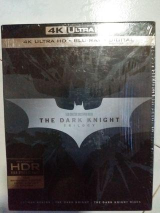 Bluray 蝙蝠俠 THE DARK KNIGHT TRILOGY 3部作 4K藍光碟