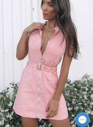 Somers Pink Festival Dress