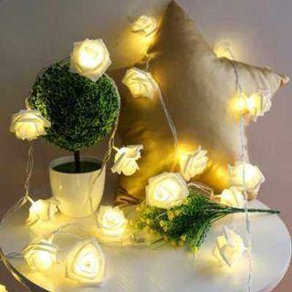 Rose shape Flower Light  Decoration (WARM WHITE LIGHT)