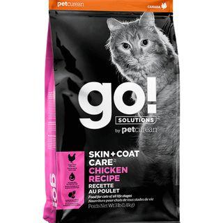 GO! Cat Food Skin + Coat Care Chicken Recipe 3lbs