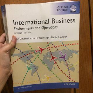 Buku internasional business global edition pearson
