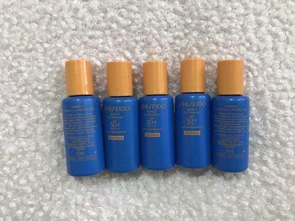 Shiseido Ultimate Sun Protection Lotion WetForce SPF 50+ (15mlx3)