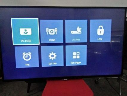 "Philips 4K Ultra Slim 55 inch LED TV 55"" HD"