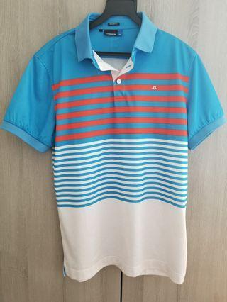 J Lindeberg Golf Polo T Men's Small