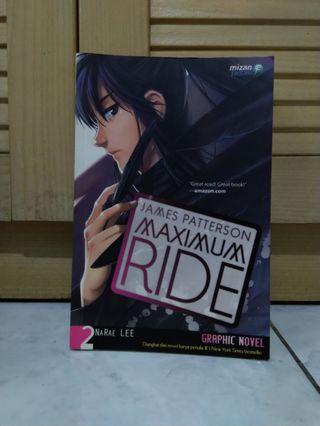 Graphic Novel Maximum Ride 2 by James Patterson & Narae Lee #maujam
