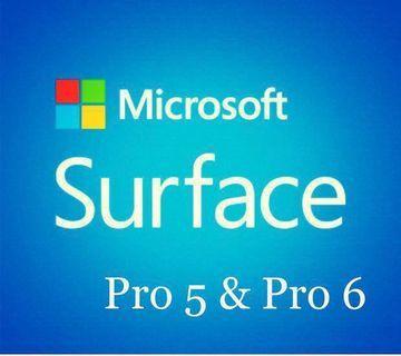 Microsoft Surface Pro 6 & 5