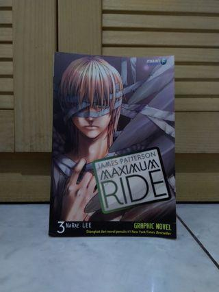 Graphic Novel Maximum Ride 3 by James Patterson & Narae Lee #maujam
