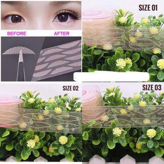 🚚 Lace eyelid tape