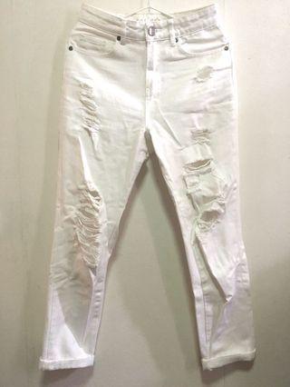 Cotton On: High 90s Jean 白色牛仔褲