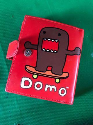 日系卡通多摩君DOMO可愛立體皮短夾