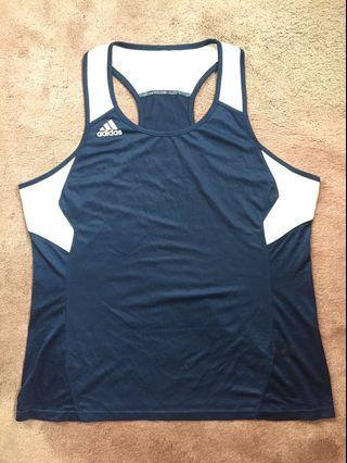 Adidas Climate Tank Top - Navy/White