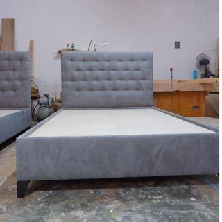 SUPER SALE FULL DOUBLE PADDED BED FRAMES