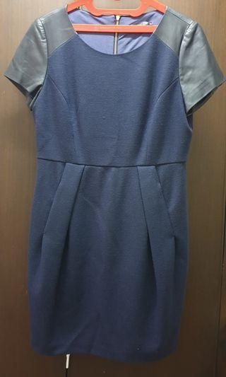 #maujam Jessie navy blue dress