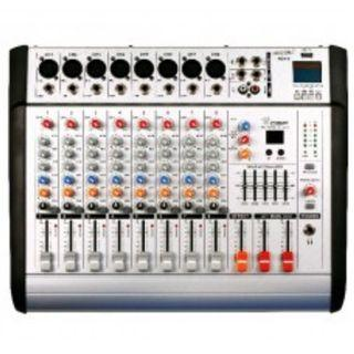8 Channel Power Mixer