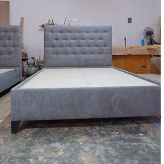 SUPER SALE Double upholstered bed frames