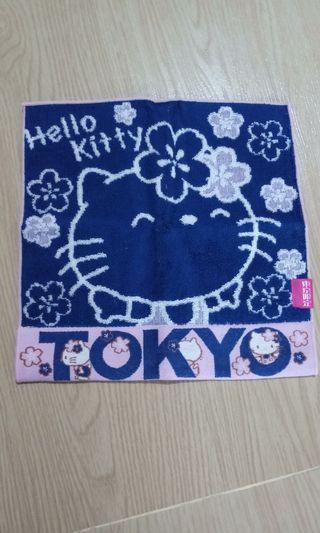 Hello kitty冼面巾