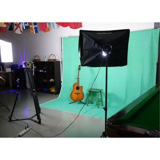 Backdrop photography and videography for rental