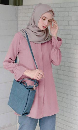 Qisa Blouse Vanilla Hijab