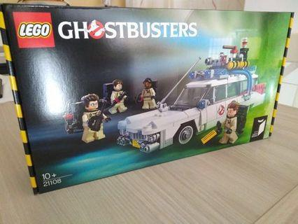 Lego ghostbuster car 21108