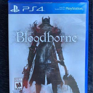 Bloodborne [ First Print / Blue Case ] (PS4)