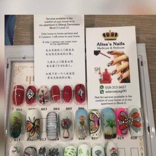 Door to Door Manicure & Pedicure Service in Kuala Lumpur & Petaling Jaya.