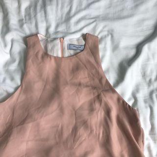 Willow Label Pink Halter Top