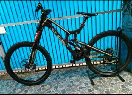 "Full Bike SANTA CRUZ V10 half Carbon 26"""