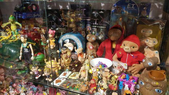 ET E.T.絕版老玩具 尋找老品 收藏 擺設 公仔