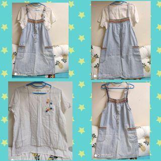 Dress (One Set) 牛仔套裝連身裙